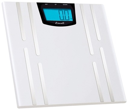Escali - Ultra Slim Health Monitor Digital Scale USHM180S