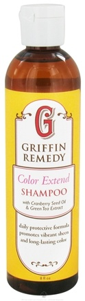 DROPPED: Griffin Remedy - Color Extend Shampoo With Cranberry Seed Oil and Green Tea Extract - 8 oz.