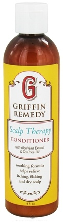 DROPPED: Griffin Remedy - Scalp Therapy Conditioner with Aloe Vera Extract and Tea Tree Oil - 8 oz.
