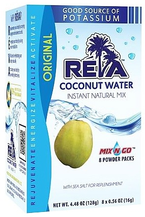 DROPPED: Maxim Ajmera - Reva Coconut Water Instant Natural Mix Original - 8 Pack(s)