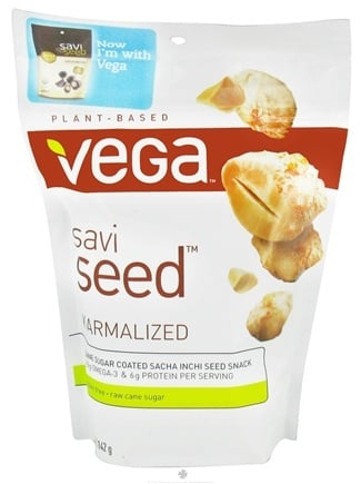 DROPPED: Vega - SaviSeed Karmalized Inca Peanuts - 5 oz.