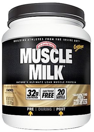 DROPPED: Cytosport - Muscle Milk Genuine Nature's Ultimate Lean Muscle Protein S'Mores - 1 lbs.