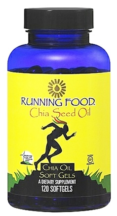 DROPPED: Running Food - Chia Seed Oil - 120 Softgels
