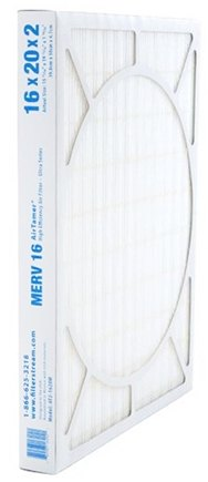 FilterStream - AirTamer Ultra High Performance 12 Month Pleated Air Filter AF2-1620M