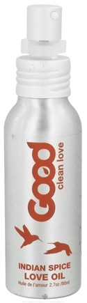 DROPPED: Good Clean Love - Love Oil Indian Spice - 2.7 oz.