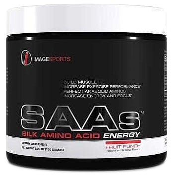 DROPPED: Image Sports - SAAs Silk Amino Acid Energy Fruit Punch - 5 oz. CLEARANCE PRICED