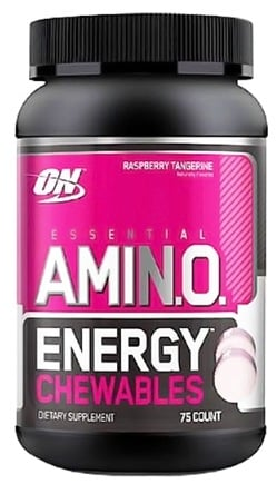 DROPPED: Optimum Nutrition - Essential Amino Energy Chewables Raspberry Tangerine - 75 Chewables