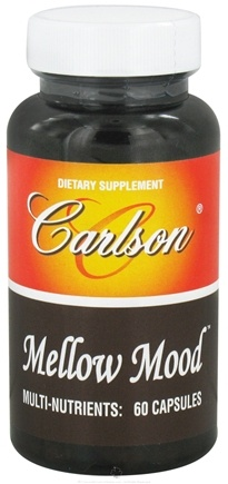 DROPPED: Carlson Labs - Mellow Mood - 60 Capsules