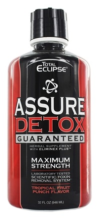 DROPPED: Total Eclipse - Assure Detox Laboratory Tested Scientific Toxin Removal System Fruit Punch - 32 oz.