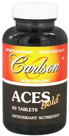 DROPPED: Carlson Labs - ACES Gold - 60 Tablets CLEARANCE PRICED