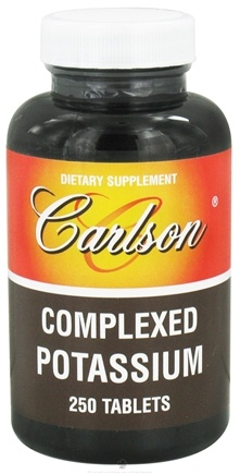 DROPPED: Carlson Labs - Complexed Potassium 99 mg. - 250 Tablets