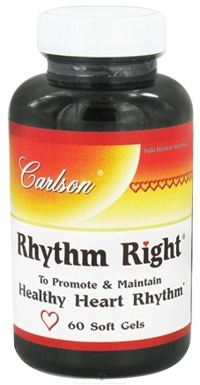DROPPED: Carlson Labs - Rhythm Rite - 60 Softgels