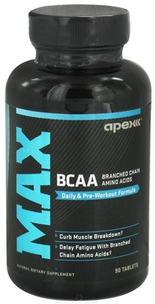 DROPPED: Apex Fitness - Max BCAA - 90 Tablets CLEARANCE PRICED