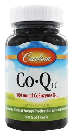 Carlson Labs - Co-Q10 100 mg. - 90 Softgels