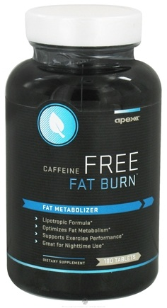 DROPPED: Apex Fitness - Caffeine Free Fat Burn - 180 Tablets CLEARANCE PRICED