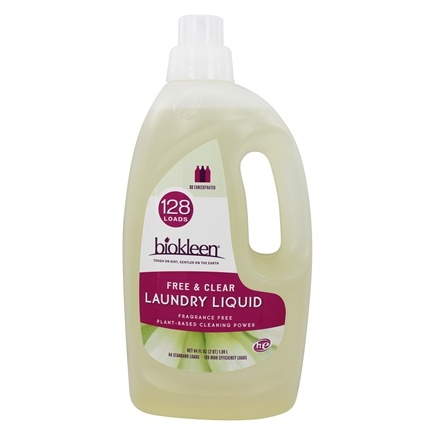 Biokleen - Free and Clear Laundry Liquid - 64 oz.