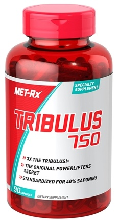 DROPPED: MET-Rx - Tribulus 750 mg. - 90 Capsules