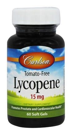 Carlson Labs - Lycopene 15 mg. - 60 Softgels