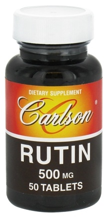 DROPPED: Carlson Labs - Rutin 500 mg. - 50 Tablets CLEARANCE PRICED