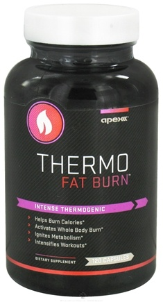 DROPPED: Apex Fitness - Thermo Fat Burn - 120 Capsules CLEARANCE PRICED