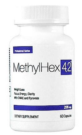 DROPPED: SEI Pharmaceuticals - Professional Series Methylhex 4,2 206 mg. - 60 Capsules