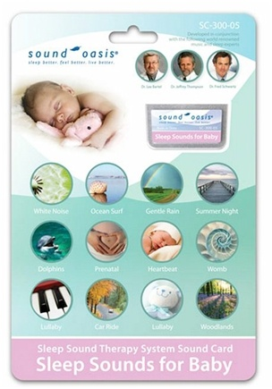 Sound Oasis - Sound Card Sleep Sounds For Baby SC-300-05