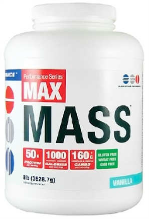 DROPPED: SEI Pharmaceuticals - Max Mass Maximum Mass Building Formulation Vanilla - 8 lbs.