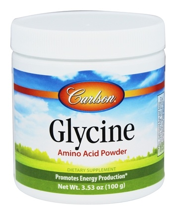 Carlson Labs - Glycine Amino Acid Powder - 3.53 oz.