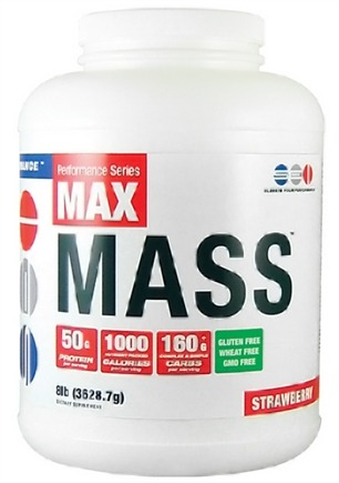 DROPPED: SEI Pharmaceuticals - Max Mass Maximum Mass Building Formulation Strawberry - 8 lbs.
