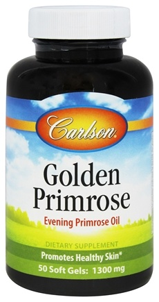 Carlson Labs - Golden Primrose Evening Primrose Oil 1300 mg. - 50 Softgels