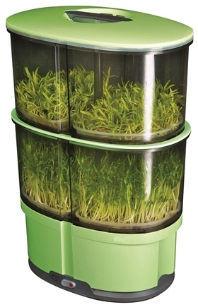 iPlant - 2 Level Sprout Garden Green