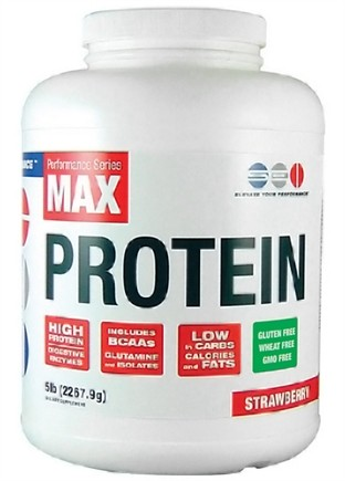 DROPPED: SEI Pharmaceuticals - Max Protein Maximum Muscle Building Formulation Strawberry - 5 lbs.