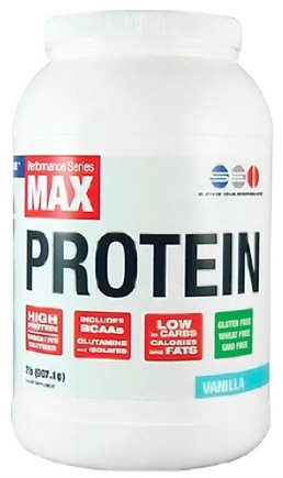 DROPPED: SEI Pharmaceuticals - Max Protein Maximum Muscle Building Formulation Vanilla - 2 lbs.