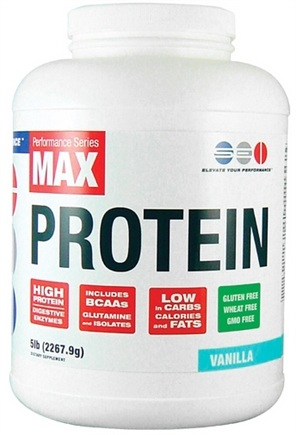 DROPPED: SEI Pharmaceuticals - Max Protein Maximum Muscle Building Formulation Vanilla - 5 lbs.