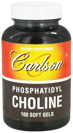 DROPPED: Carlson Labs - Phosphatidyl Choline - 100 Softgels