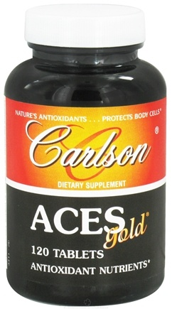DROPPED: Carlson Labs - ACES Gold - 120 Tablets CLEARANCE PRICED