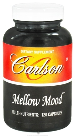 DROPPED: Carlson Labs - Mellow Mood - 120 Capsules
