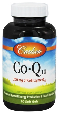 Carlson Labs - Co-Q10 200 mg. - 90 Softgels