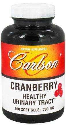 DROPPED: Carlson Labs - Cranberry Concentrate 700 mg. - 100 Softgels