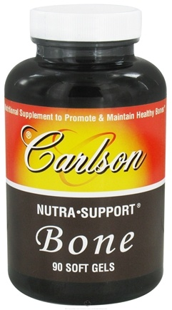 DROPPED: Carlson Labs - Nutra Support Bone - 90 Softgels CLEARANCE PRICED
