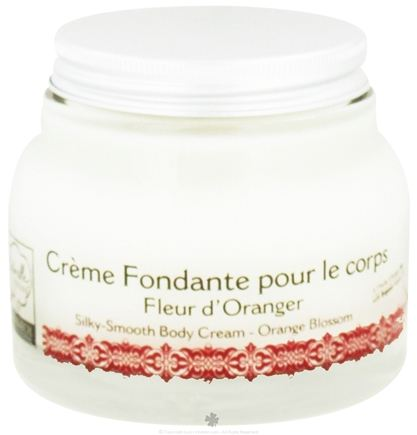 DROPPED: Naturelle d'Orient - Body Cream Silky Smooth Orange Blossom - 6.76 oz.