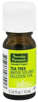 DROPPED: Thursday Plantation - Tea Tree Oil Water Soluble Solution 15% - 0.34 oz. CLEARANCE PRICED