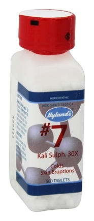 Hylands - Cell Salts #7 Kali Sulphuricum 30 X - 500 Tablets