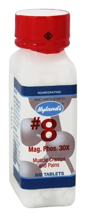 Hylands - Cell Salts #8 Magnesia Phosphorica 30 X - 500 Tablets