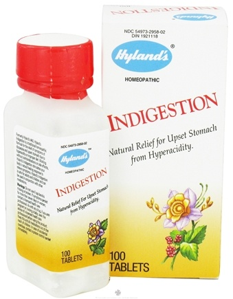 DROPPED: Hylands - Indigestion - 100 Tablets
