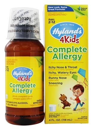 Hylands - 4Kids Complete Allergy - 4 oz.