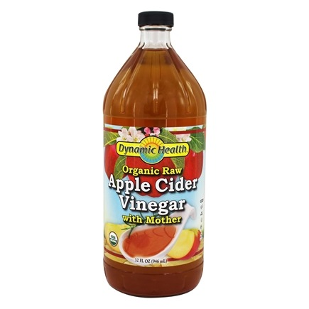 Dynamic Health - Organic Apple Cider Vinegar with Mother - 32 oz.