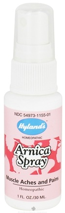 DROPPED: Hylands - Arnica Spray - 1 oz. CLEARANCE PRICED