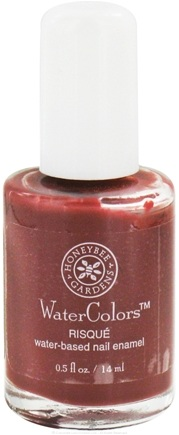 DROPPED: Honeybee Gardens - WaterColors Water Based Nail Enamel Risque - 0.5 oz. CLEARANCE PRICED