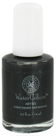 DROPPED: Honeybee Gardens - WaterColors Water Based Nail Enamel Abyss - 0.5 oz. CLEARANCE PRICED